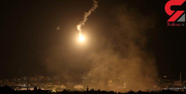 شلیک 20 راکت به سوی شهرکهای اطراف نوار غزه
