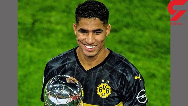 حکیمی: قلب من بین رئال مادرید و دورتموند تقسیم شده است