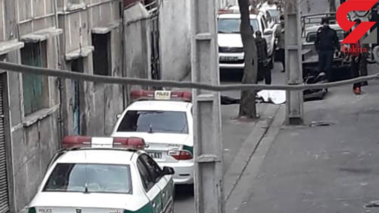 قتل مشکوک در یک کوچه باریک در جنوب تهران / صبح امروز اتفاق داد! + فیلم