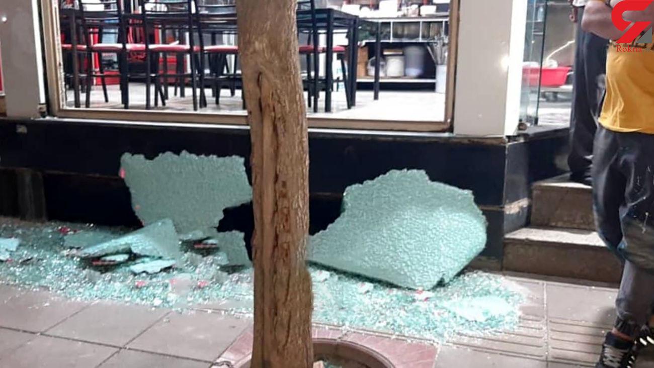 فیلم لحظه حمله مسلحانه اوباش اسلامشهر به عزاداران شب قدر
