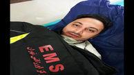 ضرب و شتم تکنسین اورژانس تهران هنگام خدماترسانی / ضارب مست بود + عکس