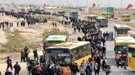 وضعیت ترافیکی محورهای منتهی به مرز ایران و عراق
