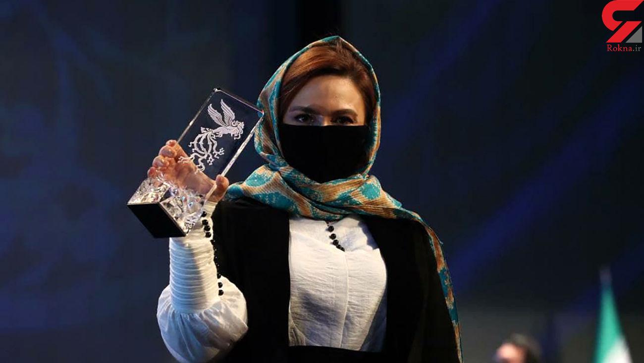 گلاره عباسی بهترین نقش مکمل زن در فجر ۹۹