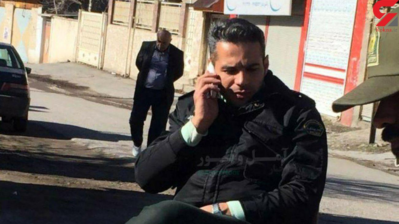 ستوان یکم جواد رضایی در جاده هراز شهید شد + عکس