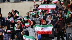 زیرساختها برای حضور زنان در ورزشگاهها فراهم است