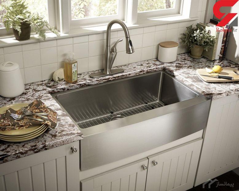 ترفندهای شگفت انگیز برای براق کردن سینک آشپزخانه