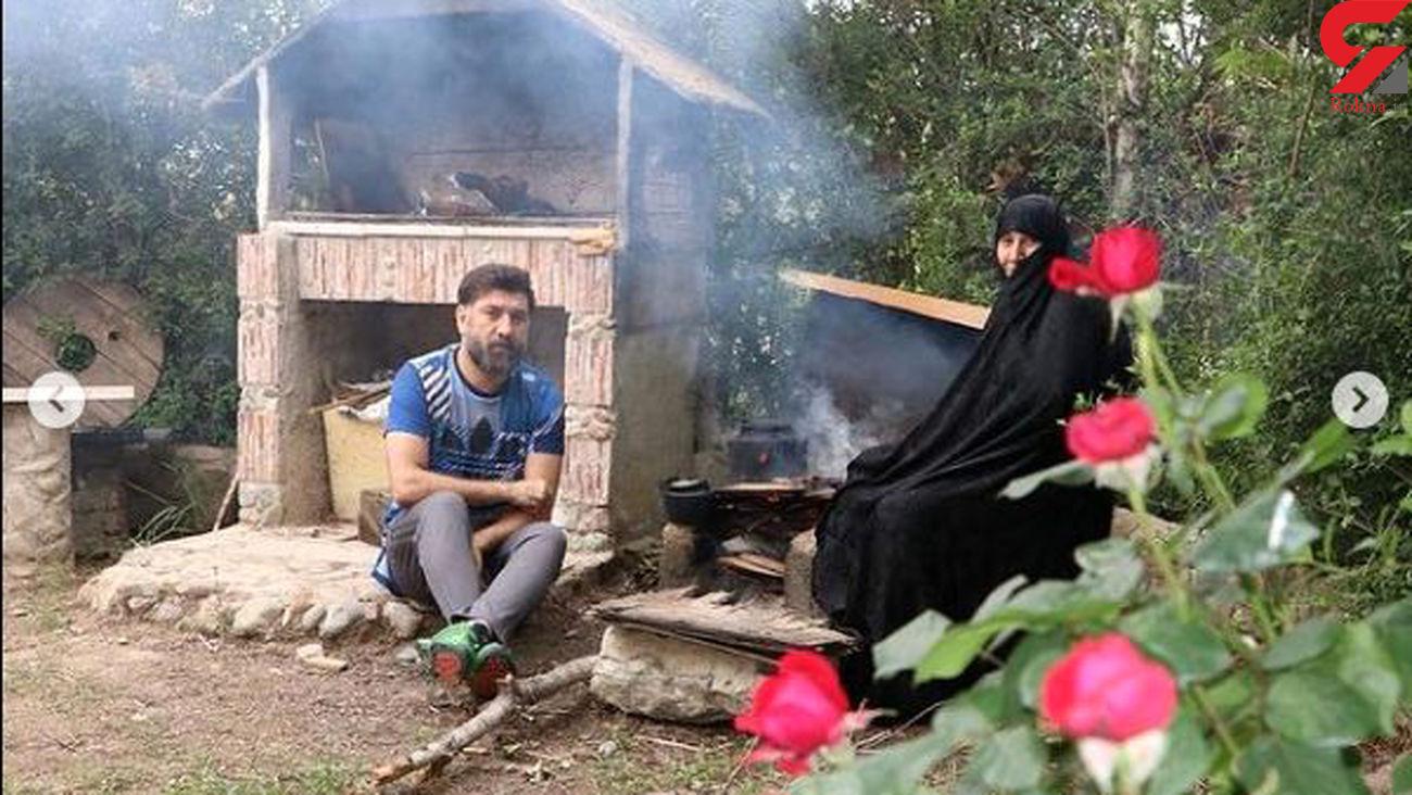 فیلم / اظهارات امروز مادر علی انصاریان / گریه ها برای دعا!