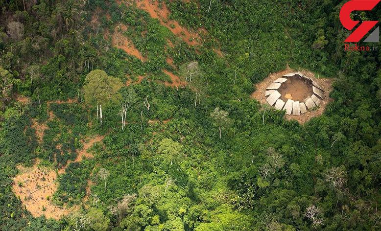 انسانهای ابتدایی در قلب جنگل های آمازون+تصاویر