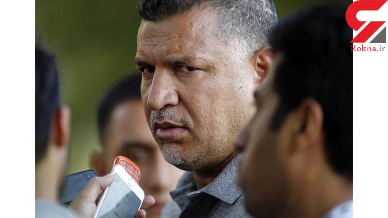 حضور علی دایی در دادگاه کیفری همزمان با جلسه نجفی/ توهین علی دایی به خبرنگاران