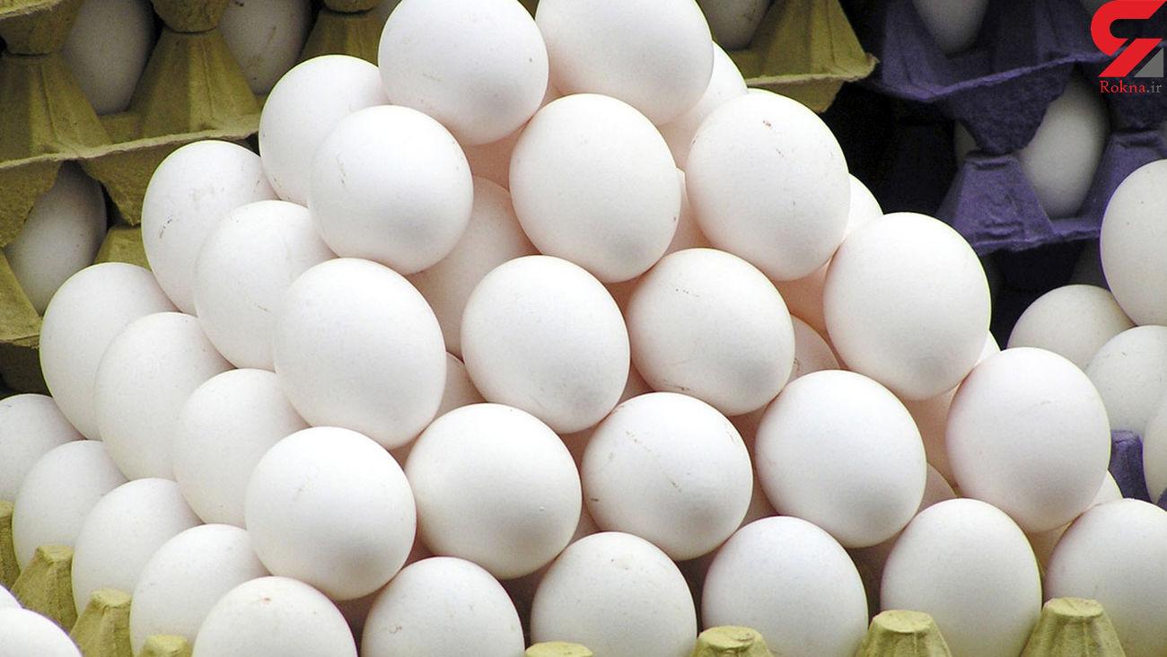 قیمت تخم مرغ در بازار امروز شنبه اول آذر ماه 99 + جدول
