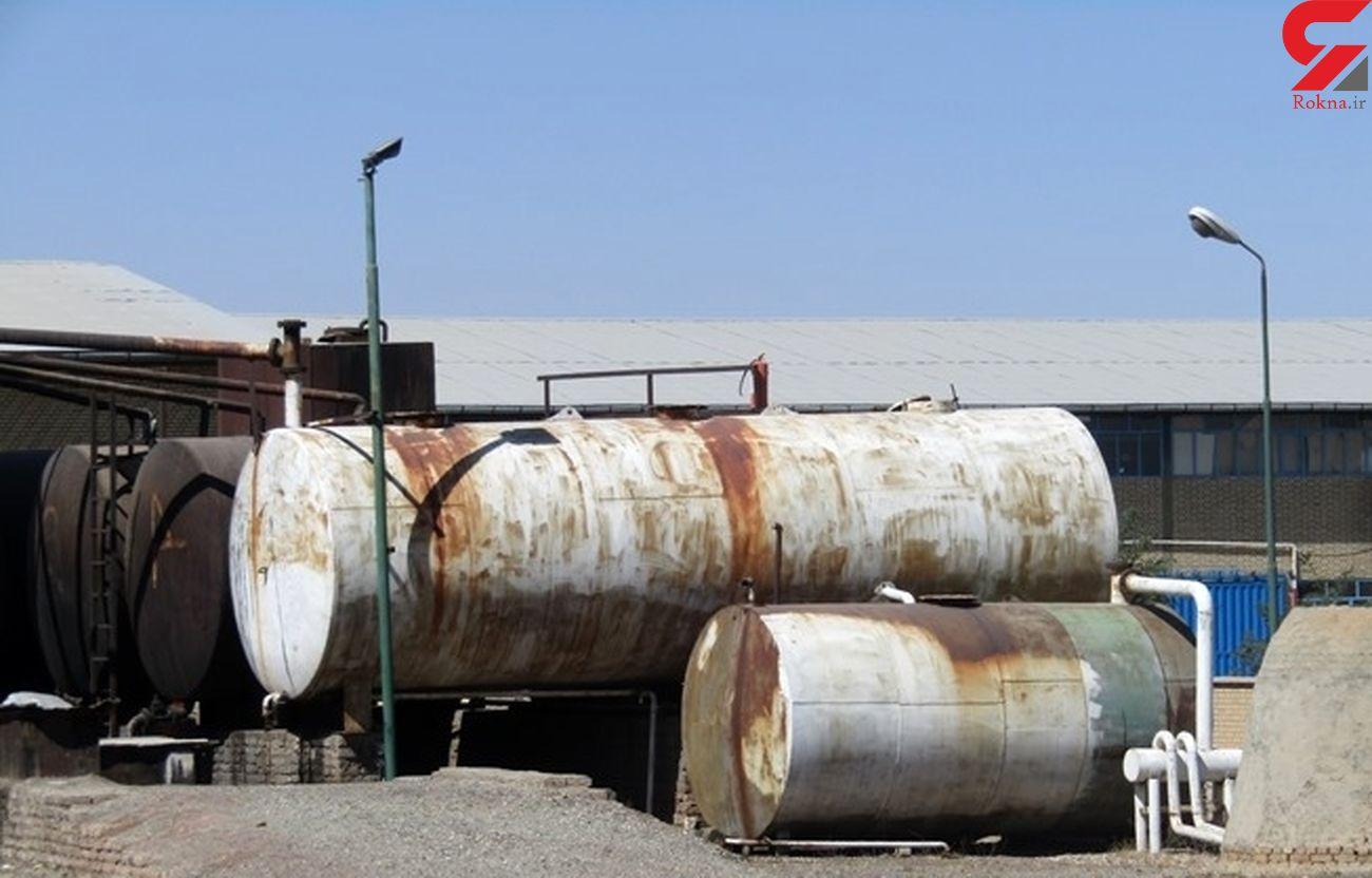 کشف گاز مایع قاچاق در ساوجبلاغ