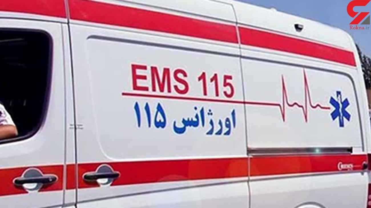 حادثه برای یک زن در ارتفاعات البرز