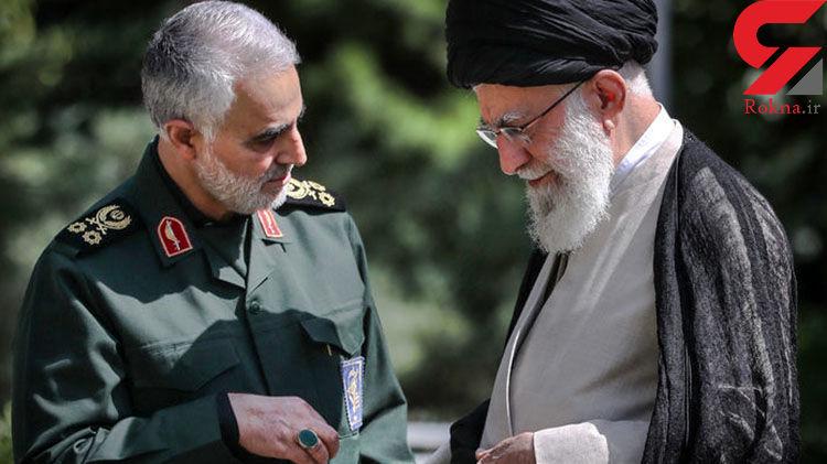 توصیفات شنیده نشده رهبر انقلاب از سپهبد شهید قاسم سلیمانی+فیلم