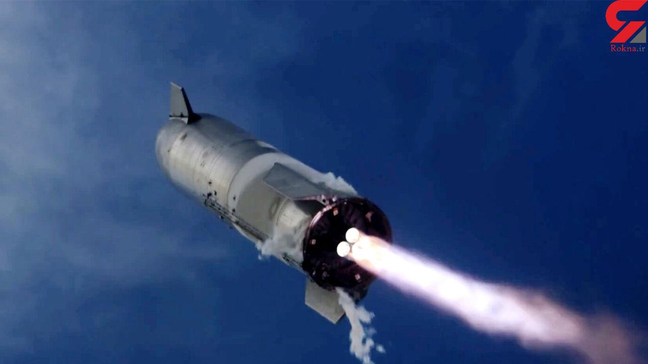 انفجار  فضاپیما پس از فرود  + فیلم