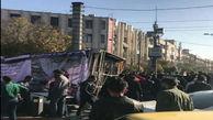 سقوط تابلو تبلیغاتی در تبریز جان یک نفر را گرفت +فیلم