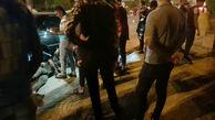 3 عکس هولناک از تصادف پژوها در جاده مرگ آبادان