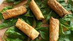 بورک اسفناج ، یک غذای ترکی
