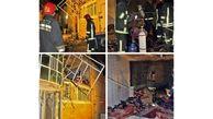 مصدوم شدن کودک مشهدی در انفجار خانه همسایه + عکس