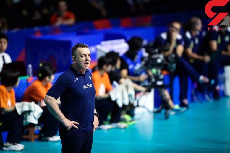 پیامد کرونا جدایی ایگور کولاکوویچ از تیم ملی والیبال