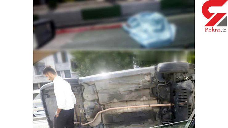 جسد رها شده یک پاکبان ارومیه ای در کنار خیابان+ عکس دلخراش