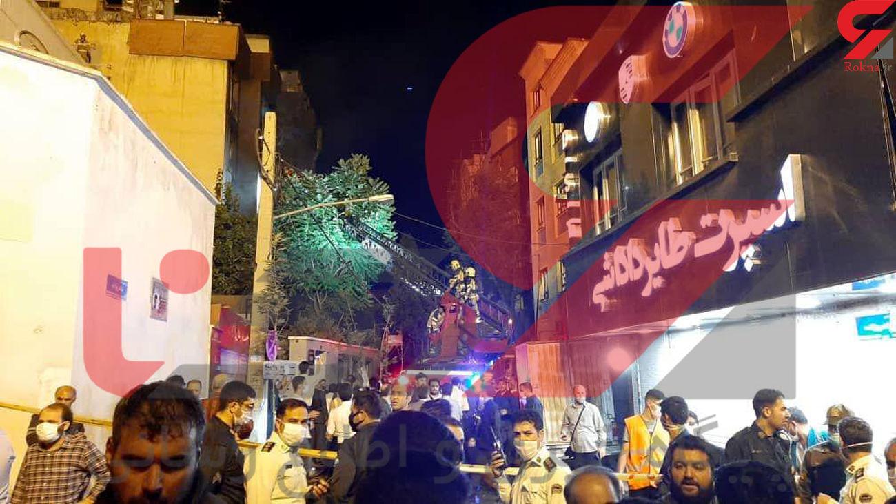 بازداشت 4 نفر در انفجار تجریش + فیلم