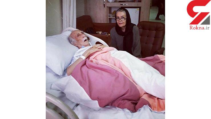 داریوش اسدزاده در بیمارستان بستری شد +عکس
