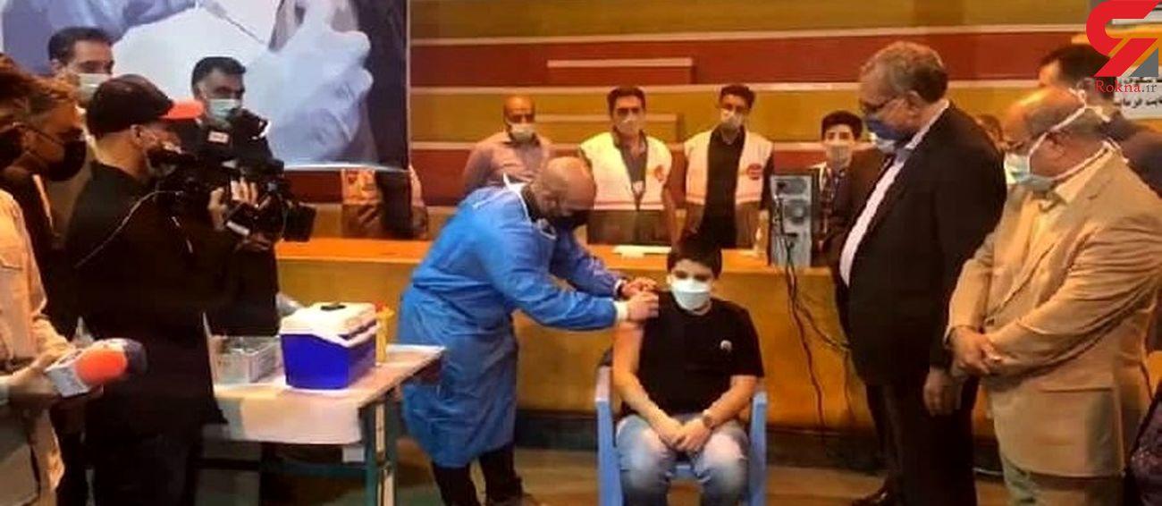 نوه وزیر بهداشت چه واکسن کرونایی دریافت کرد؟