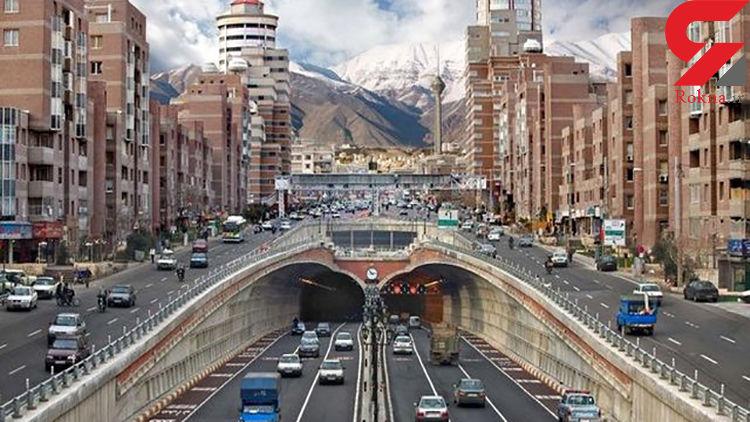 حجم ترافیک صبحگاهی پایتخت رو به کاهش است/محور هراز همچنان مسدود است