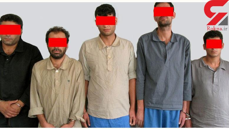 این 5 مرد زحمتکش را می شناسید؟ / آنها دزدان خانه های تهرانی ها بودند +عکس