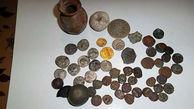۳۸ قطعه شی تاریخی مربوط به دوران اسلامی و اشکانی کشف شد