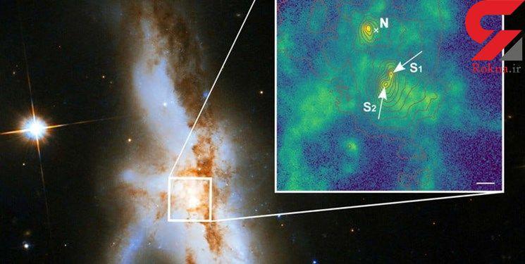 کشف 3 سیاه چاله عظیم در یک کهکشان / برای نخستین بار