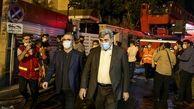 پیام تسلیت شهردار تهران در پی حادثه انفجار تجریش