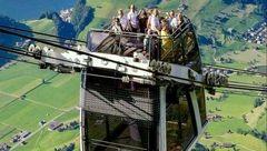 اولین تله کابین دوطبقه جهان در سوئیس! + تصاویر