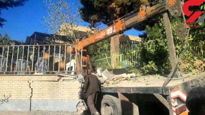 فوری / حادثه خونین برای عزاداران حسینی/ جرثغیل ترمز برید !+تصاویر
