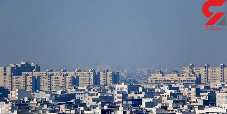 هوای تهران امروز آلوده است