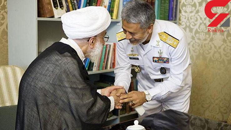 گزارش دریادار سیاری درباره عملکرد ارتش به آیت الله جنتی