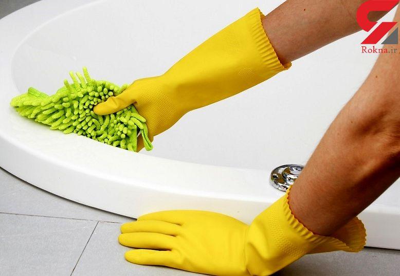 جنگ با میکروب های حمام با ساده ترین ترفند