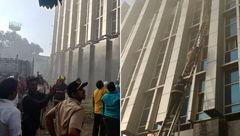 """آتشسوزی مرگبار در بیمارستانِ """"بمبئی"""""""