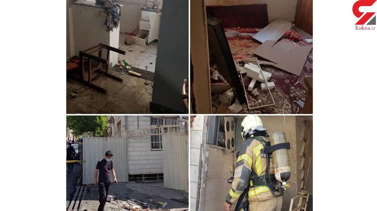 انفجار مرگبار خانهای در تهرانپارس + عکس