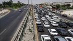 ترافیک در آزادراه کرج- تهران سنگین است/بارش برف و باران در استانهای چهارمحال و بختیاری و کرمان