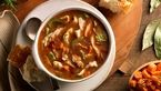 سوپ قارچ و سینه مرغ