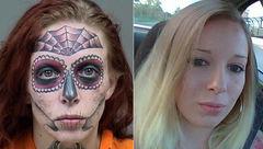 تتو وحشتناک یک زن که دزد سریالی است + عکس