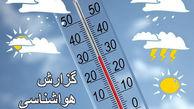 بارش برف و باران در برخی مناطق کشور/ آسمان تهران نیمه ابری است