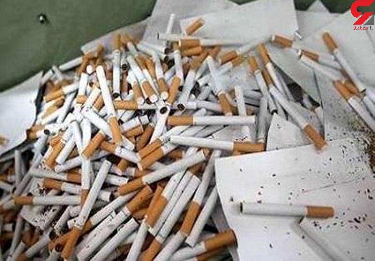 حکم پرونده قاچاق30  هزار نخ سیگار صادر شد