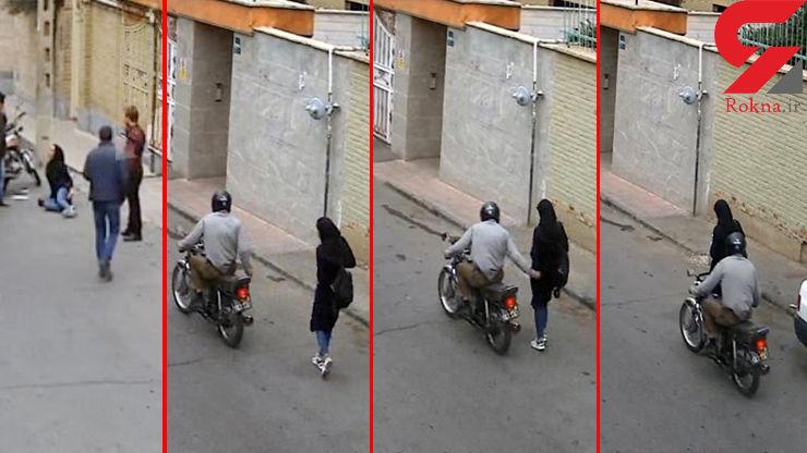 این مرد فاسد با درفش به 60 زن تهرانی حمله کرد !+ فیلم و عکس لحظه حمله