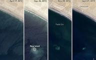 ناسا ناپدیدشدن یک جزیره را ثبت کرد+عکس