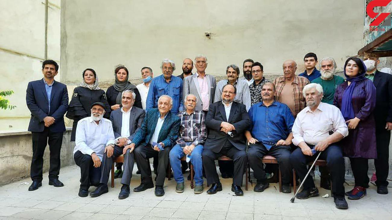 دیدار شریعتمداری با اعضای هیات مدیره انجمن صنفی بازیگران سینما و تلویزیون