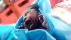 تولد نوزاد پسر در آسمان ایران! + عکس