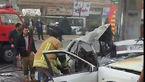 فیلم جنازه های سوخته در تصادف آتشین زانتیا