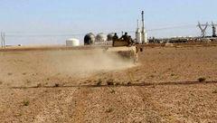 سرقت نفت توسط شبهنظامیان کُرد از میدانی نفتی «کونیکو» در شرق سوریه